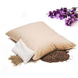 PODUSZKA Z LAWENDĄ 40X50 CM - polecana dla alergików, przy bólach głowy, migrenach, dyskopatii