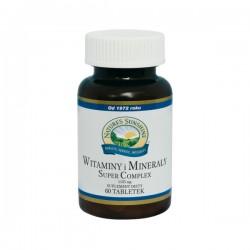 WITAMINY I MINERAŁY (Super Complex) - bogate źródło naturalnych witamin i minerałów