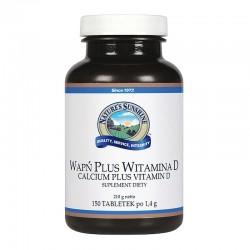 WAPŃ PLUS WITAMINA D (Calcium Plus Vitamin D) - idealna mieszanka dla naszych kości