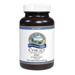 CYNK ALT (Zinc) - wzmacnia skórę, mięśnie, włosy, paznokcie, wspiera odporność
