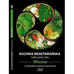 KUCHNIA WEGETARIAŃSKA CZTERY PORY ROKU - WIOSNA - multimedialny podręcznik gotowania