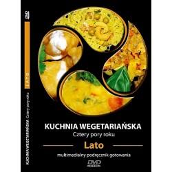 KUCHNIA WEGETARIAŃSKA CZTERY PORY ROKU - LATO - multimedialny podręcznik gotowania