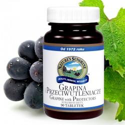 GRAPINA I PRZECIWUTLENIACZE (Grapine with Protectors) - skutecznie zatrzymuje procesy starzenia