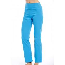 CLASSIC ORGANIC BLUE - spodnie fitness